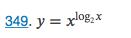 349. y = xl082x