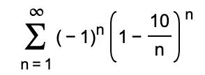"""10) n -1)"""" 1 n 1"""
