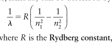= R vhere R is the Rydberg constant,