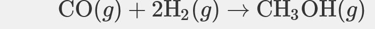 СОд) + 2H; (9) — CH3ОН(9)