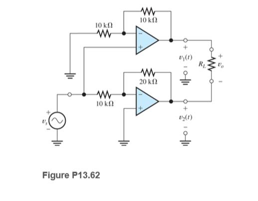 10 kn 10 kl v^(1) 20 kN 10 k2 vz(t) Figure P13.62