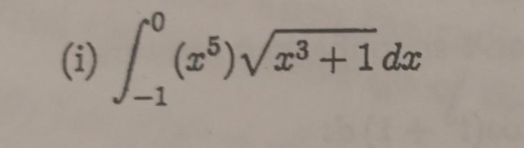 (1) / (25)Vx³+1 dx -1