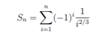 -Σμ Sn = i=1
