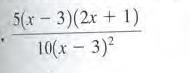 5(х 3)(2х + 1) 10(х 3)2