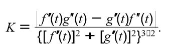 """F(t)g""""(t) – g'(1)f""""(t) Κ= {[S(t)]? + 21302"""