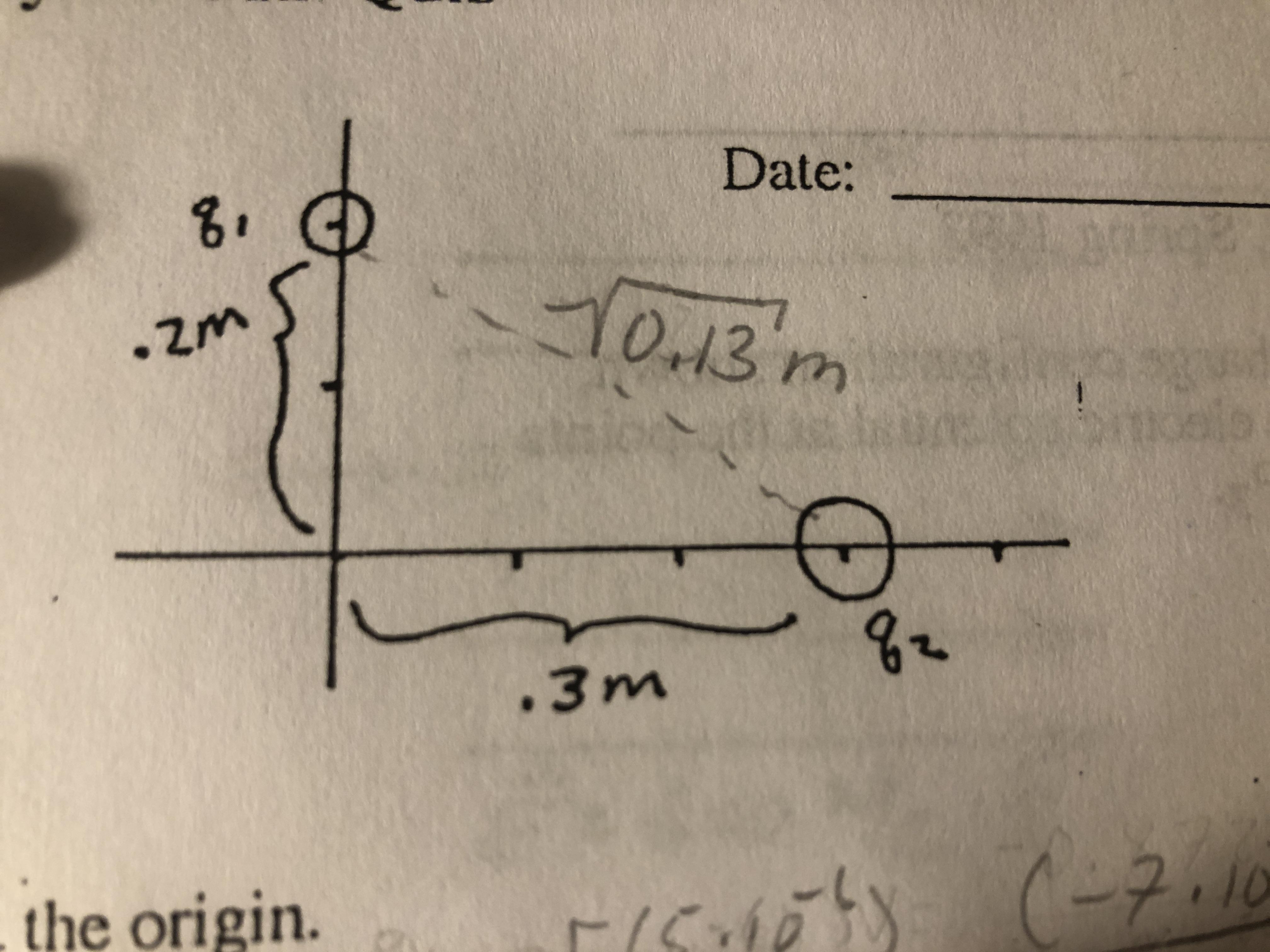 Date: 8. 10.13'm .3m the origin. (-7.10