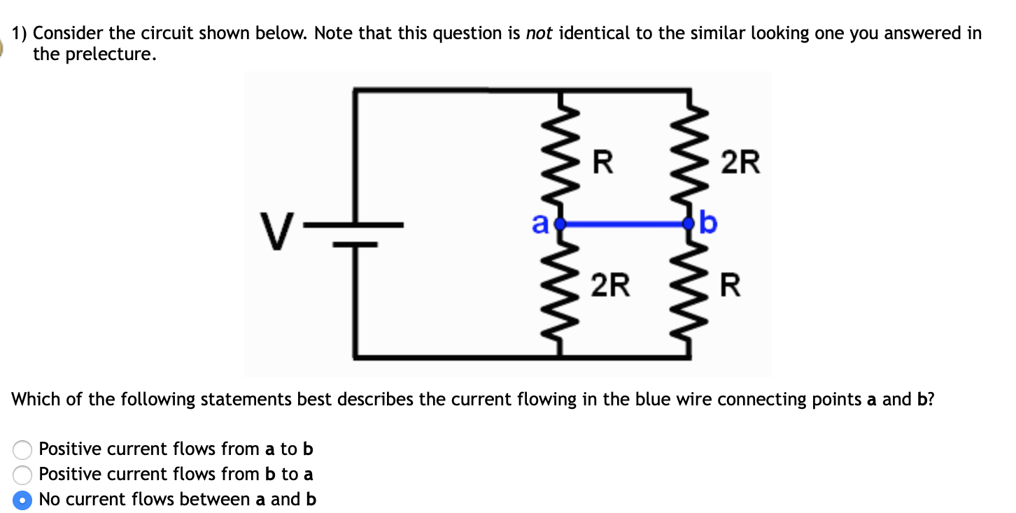 Which of the following best describes the circuit