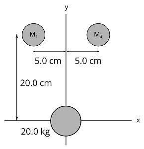 M, Mз 5.0 cm 5.0 cm 20.0 cm 20.0 kg