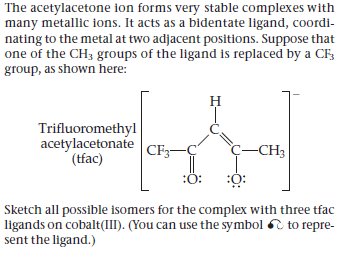 Answered The Acetylacetone Ion Forms Very Stable Bartleby