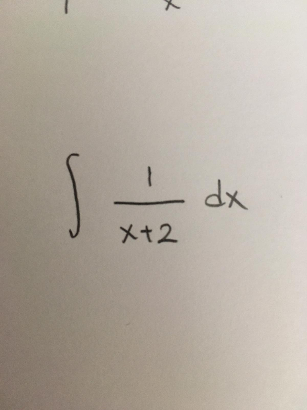 dx X+2