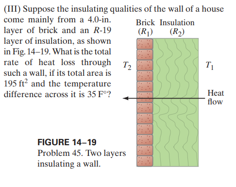 Answered Iii Suppose The Insulating Qualities Bartleby