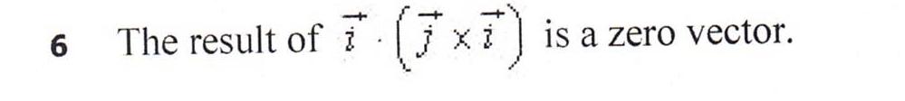(7 xi) [j xi ] is a zero vector. The result ofi