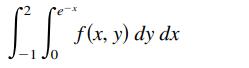 I flr. ») dy dx -1 Jo