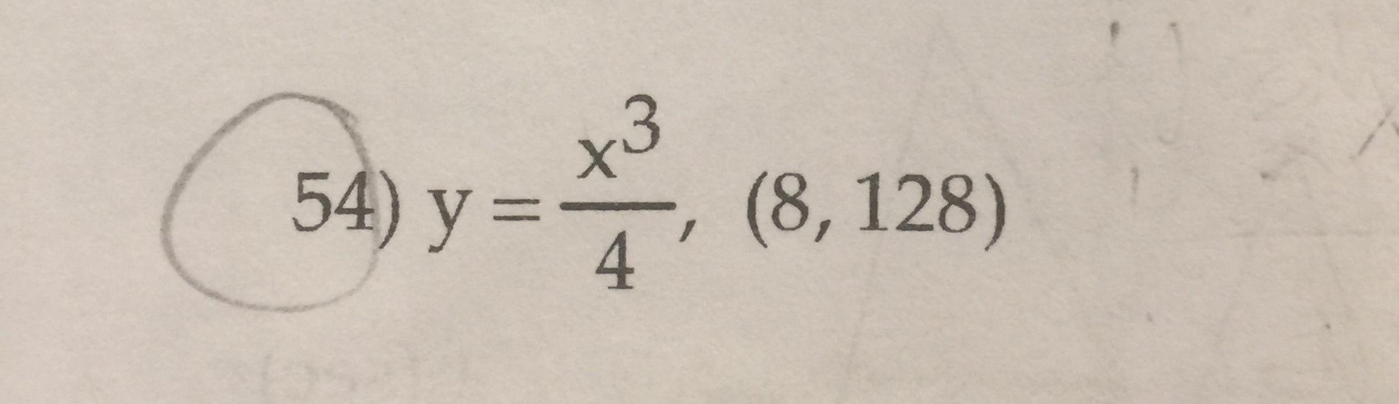 x3 (8, 128) 4 54) y=