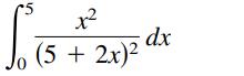 (5 + 2x)? Jo