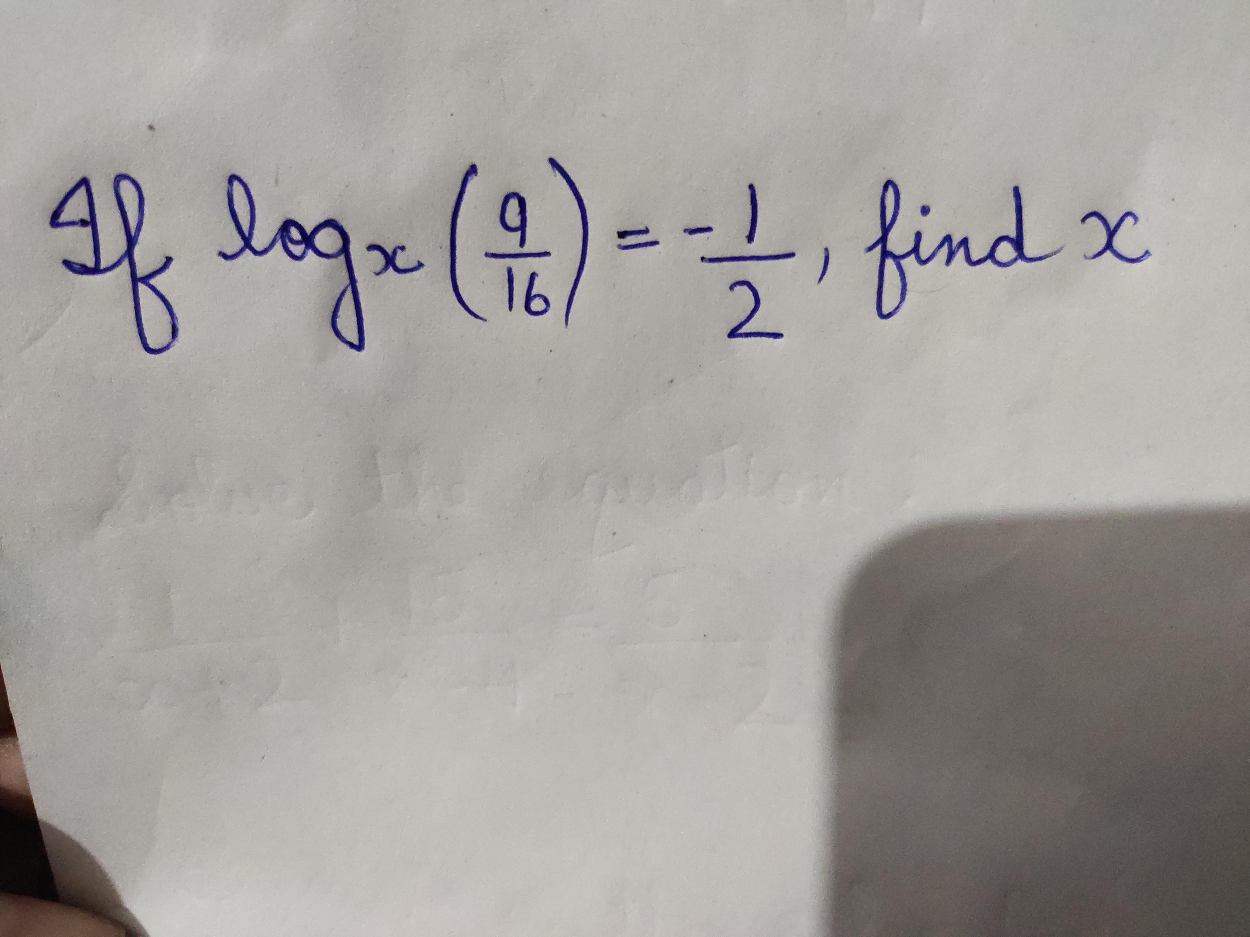 af lage (2)---, find x 16