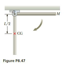 L/2 x CG Figure P8.47