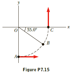 - X 35.0° Figure P7.15