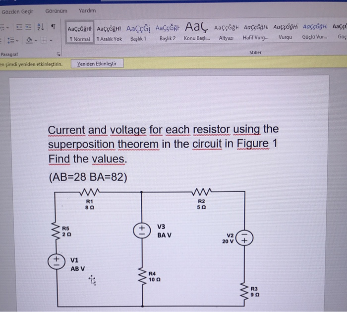 Answered: Current and voltage for each resistor… | bartleby