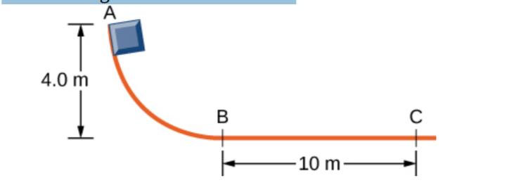 А 4.0 m С В 10 m-