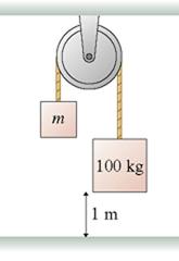 100 kg 1 m