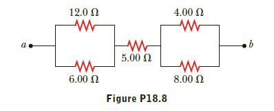 12.0 N 4.00 N 5.00 N 8.00 N 6.00 N Figure P18.8