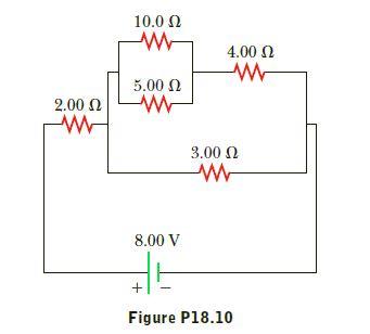 10.0 2 4.00 0 5.00 N 2.00 N 3.00 N 8.00 V Figure P18.10