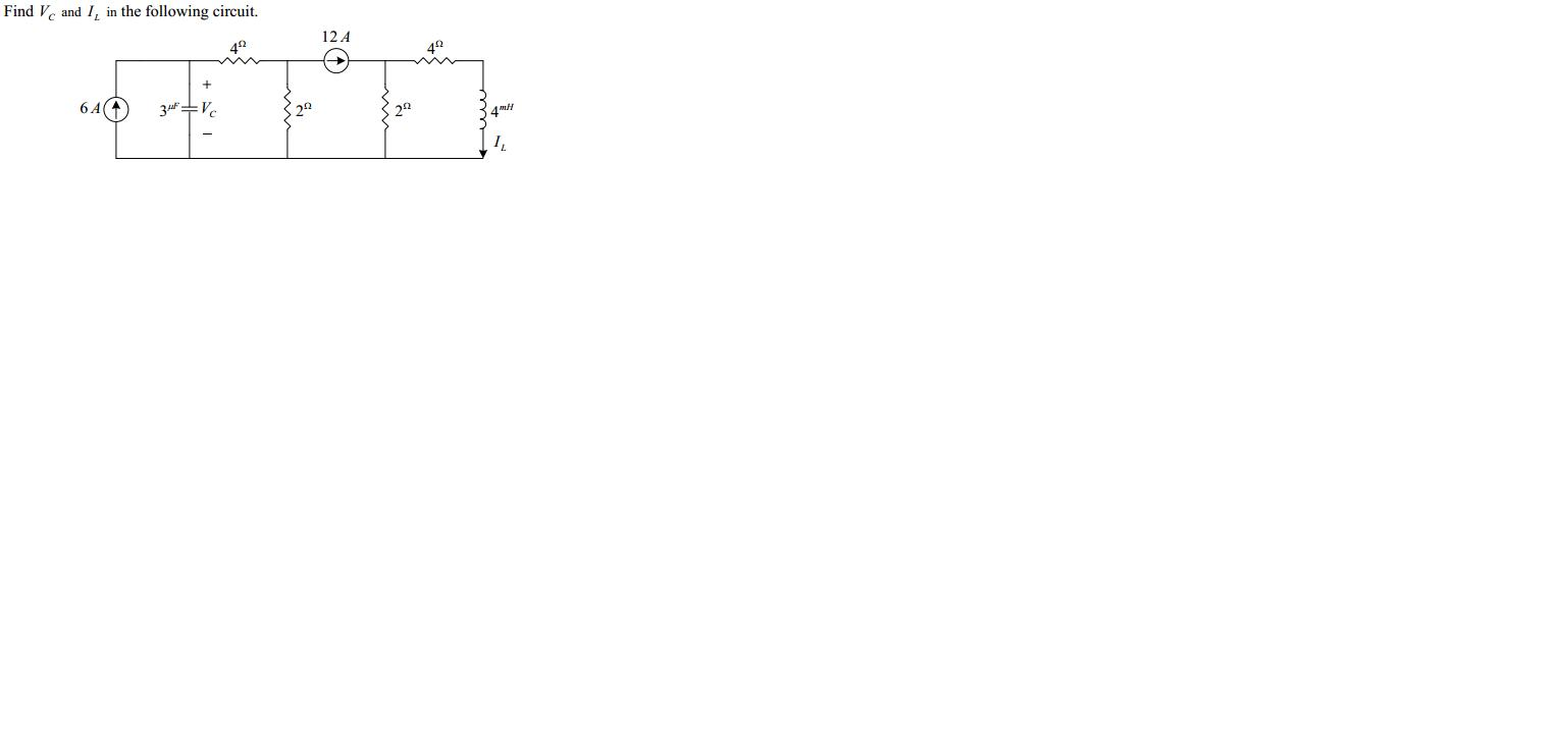 Find Ve and I, in the following circuit. 12 A 42 41 6A( 3 V 22 4m