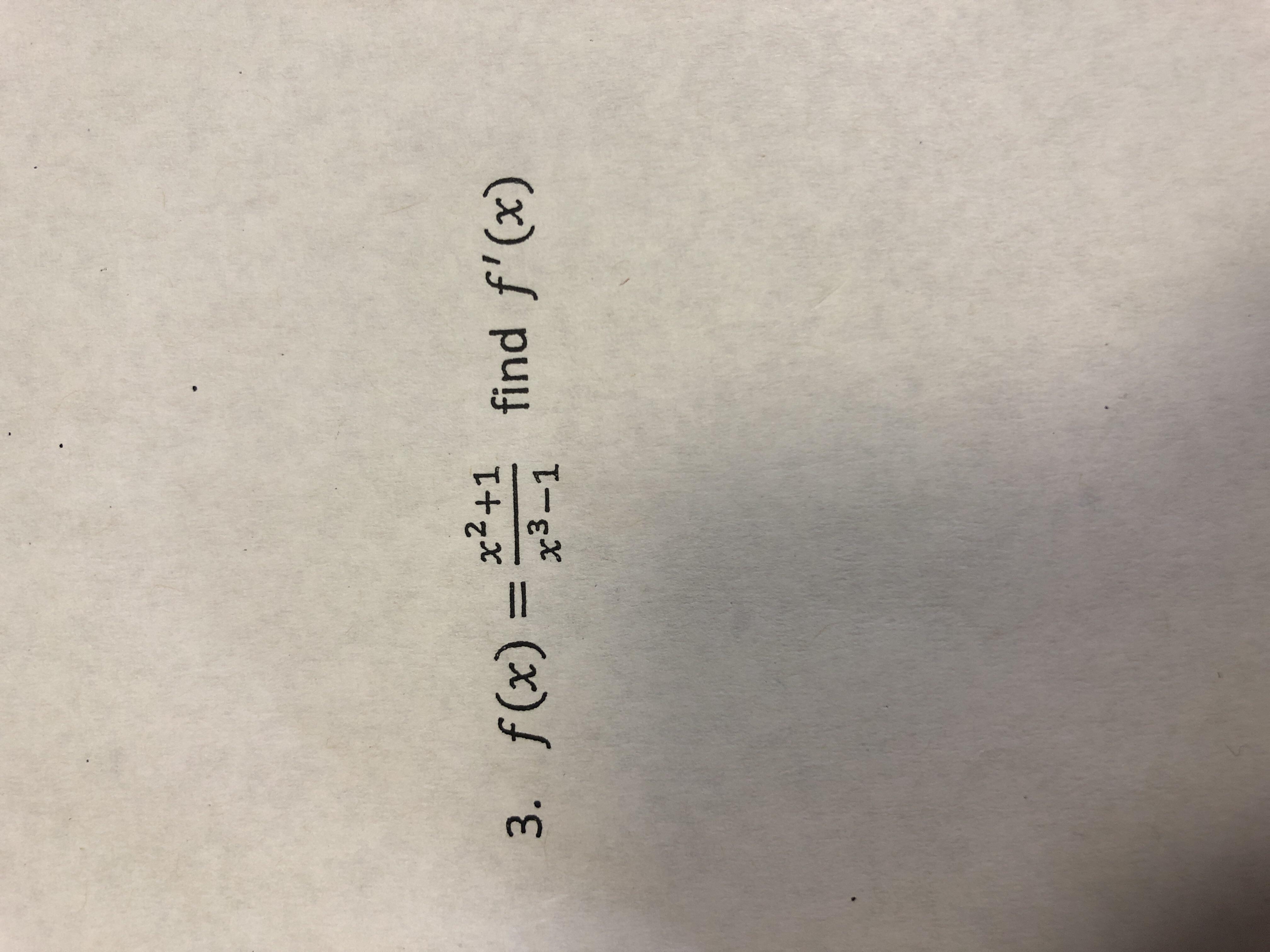 f(x)=x3+1 3. find f(x)