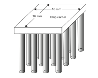 16 mm 16 mm Chip carrier