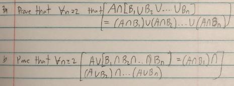 Prae that n22 thet ANLB,UB V.... UBn (AOBU(AnB).UHB Av B.ABAOB-An (AUB)n.. (AUB Pae that Ynz2