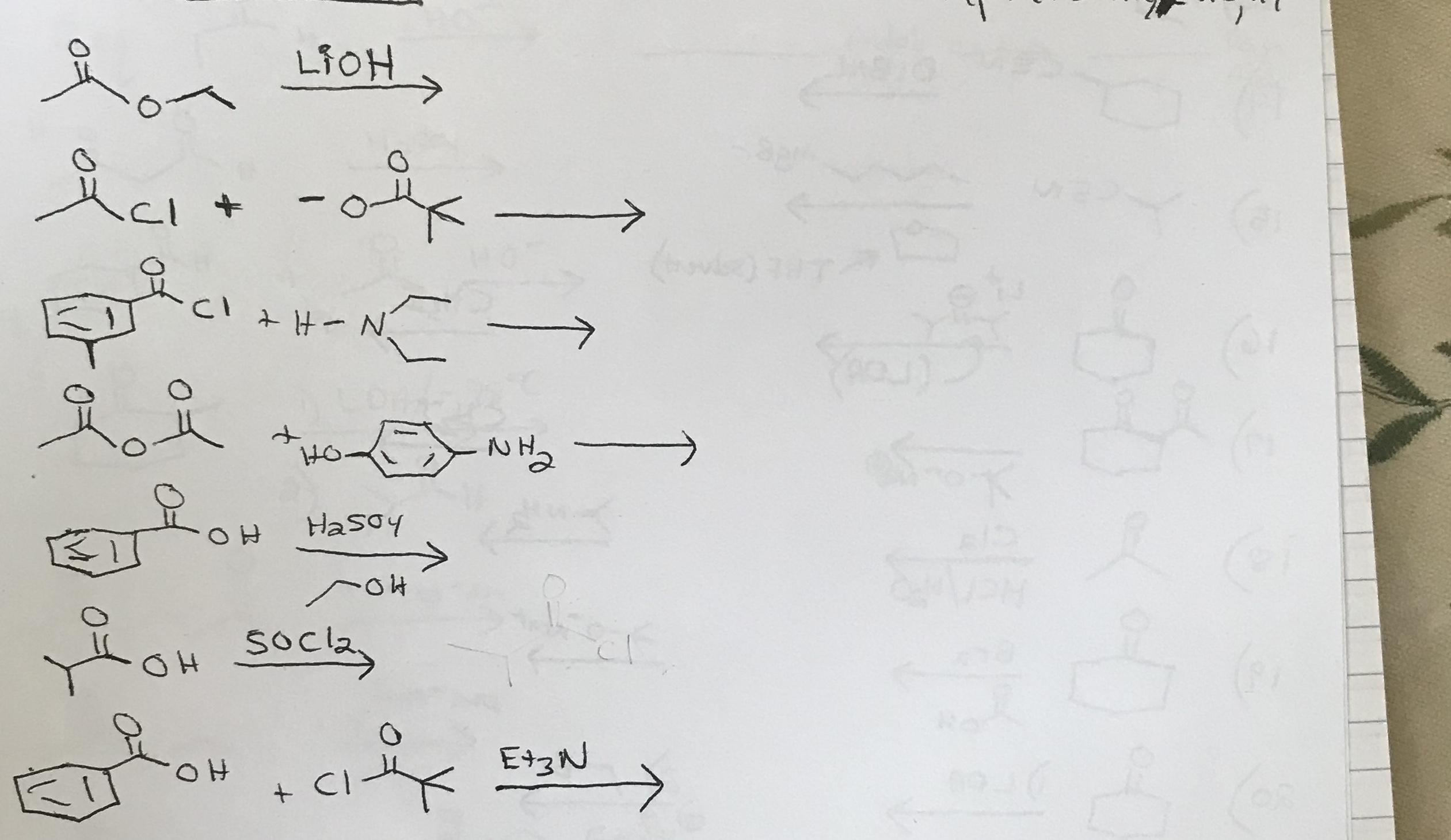 } LIOH -Cl tN NO Hasoy socla E13N CI
