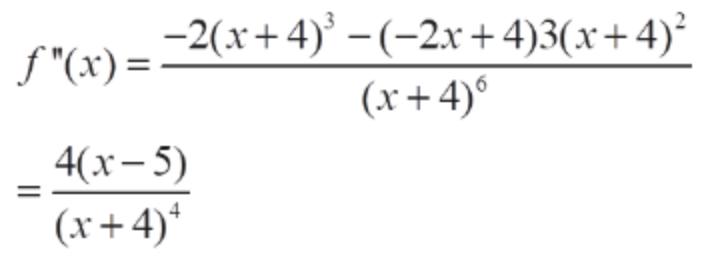 """-2(+4) -(-2r+4)3(x+4) f""""(x) = = 40-5) (r+4)1"""