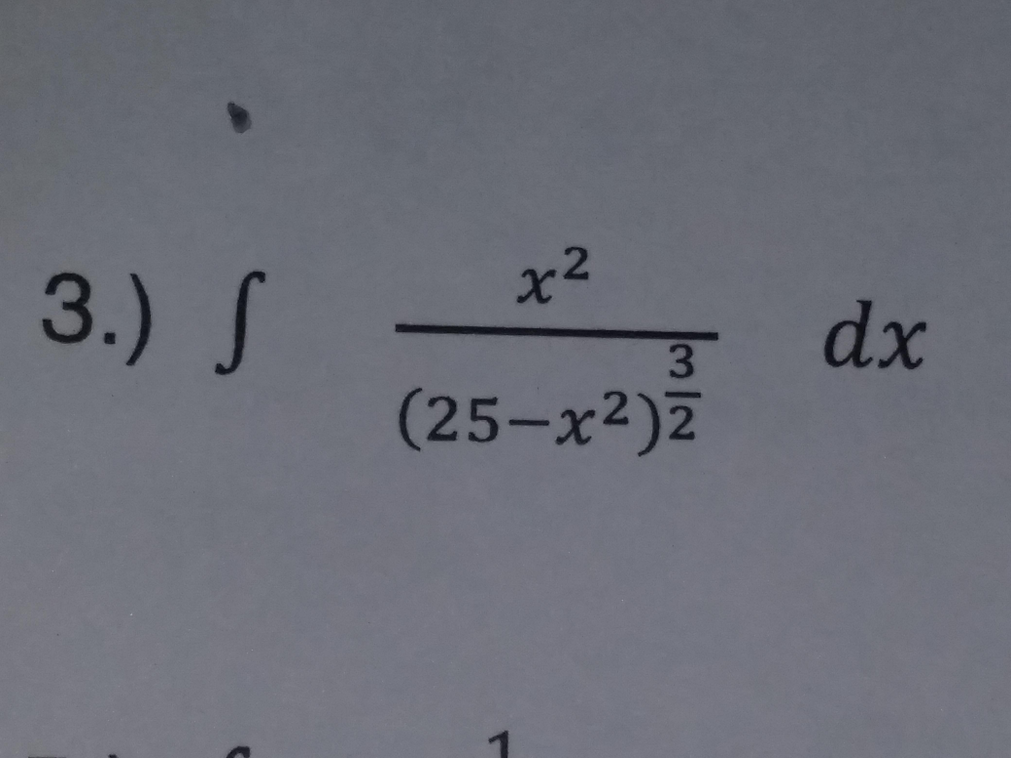 2 3 (25-x2) 2