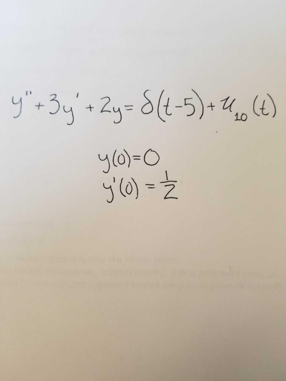 T-3y 2y-8t-5) (4) + 1 10 Ja)=O